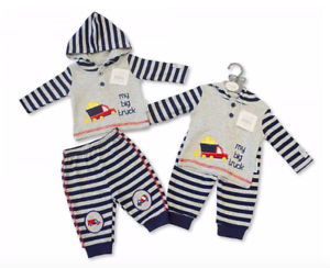 Newborn 0-3 3-6 Months old Baby 2 Piece Hooded Set