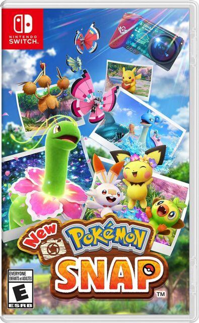 New Pokemon Snap - Nintendo Switch [Simulation Photography Exploration] NEW
