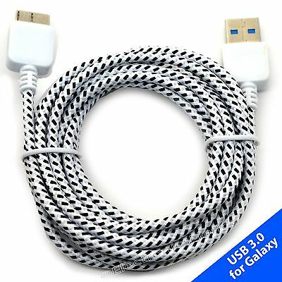 LOT Braided USB Data Sync & Charger Cable Cord For SAMSUNG GALAXY S5 NOTE 3