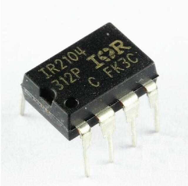 5PCS IR2104PBF IR2104 IC DRIVER HIGH/LOW SIDE 8DIP NEW GOOD QUALITY