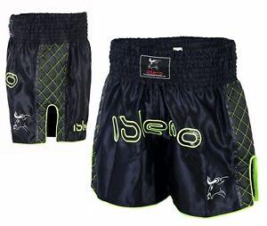 EVO Pantaloncini Da Lotta Muay Thai MMA Kick Boxing Arti Marziali Gear GRAPPLING UFC