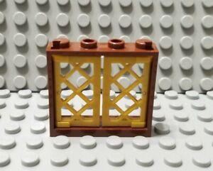 2735 Lego loseta-mosaico 1x3 marrón oscuro 5 trozo