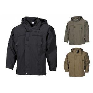 US-Softshell-Jacke-GEN-II-Level-5-Army-Soft-Shell-wasserdicht-Herren-Outdoor