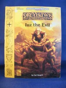Greyhawk Adventures - Iuz The Evil WGR5 - AD&D - TSR