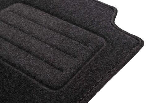 Bj Peugeot 206 Graphit Textil Fußmatten 2009-2012   Anthrazit