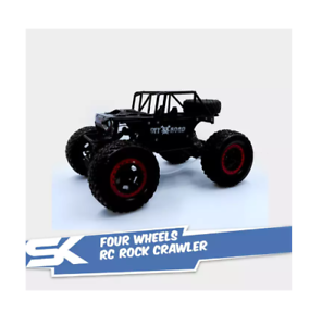 699-127A-Four-Wheels-RC-Rock-Crawler-with-4-8V-700MAh-Rechargeable-Black