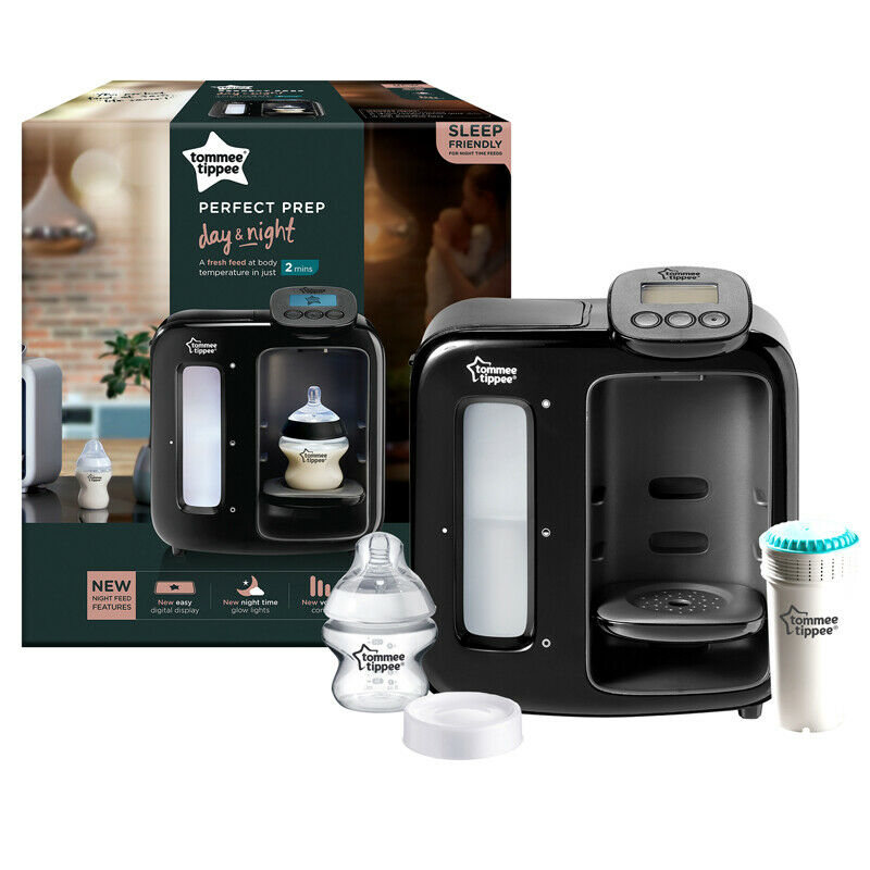 Tommee Tippee Perfect Prep Day /& Night blanco blanco