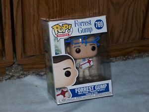 Tom Hanks Hand Signed Autographed Funko Pop! #769 Forrest Gump