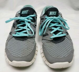 brand new 74d50 81326 Details about Nike Free Run 2 Womens 10 Running Shoes Teal Gray 443816-010  Sneakers Training