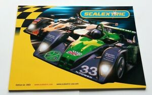 CATALOGUE-SCALEXTRIC-EDITION-44-ANNEE-2003