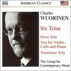 Six Trios The Group for Contemporary Music 0636943926420 by Wuorinen CD