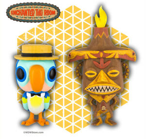 Disney Funko Pop Enchanted Tiki Room Pele Amp Barker Parrot