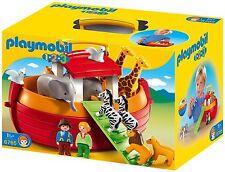 Playmobil 6765 1.2.3 Noah's Ark Pairs Of Animals