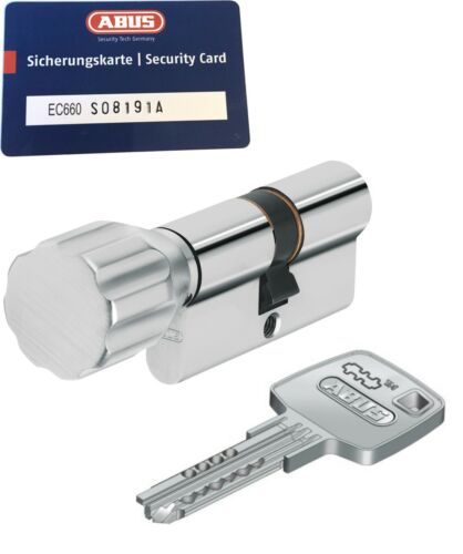ABUS ec660 CYLINDERS CYLINDER z55//k30mm with 3 to 10 Key SKG **