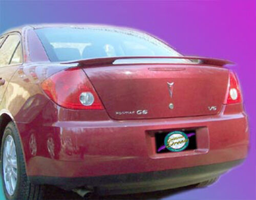UNPAINTED PONTIAC G6 4-DOOR SEDAN CUSTOM STYLE SPOILER 2005-2010