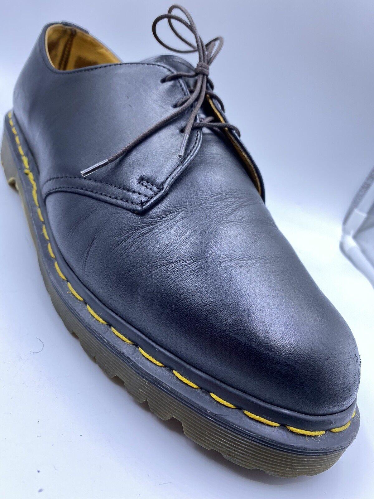Dr. Martens BLACK Leather Shoes
