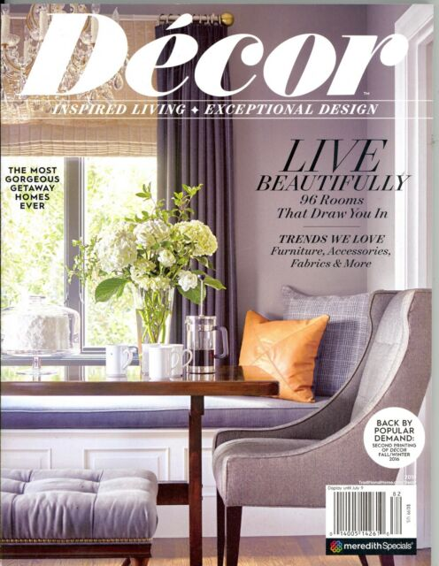 Decor Magazine Fall Winter 2016 Traditional Home Meredith Specials