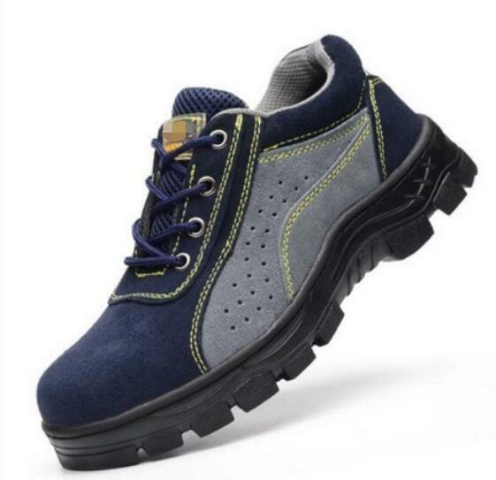 Womens and Mens Breathable Work Satefy Steel Toe shoes Casual Outdoor Sneakers