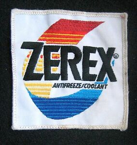 ZEREX-EMBROIDERED-SEW-ON-ONLY-PATCH-ANTI-FREEZE-COOLANT-VALVOLINE-UNIFORM