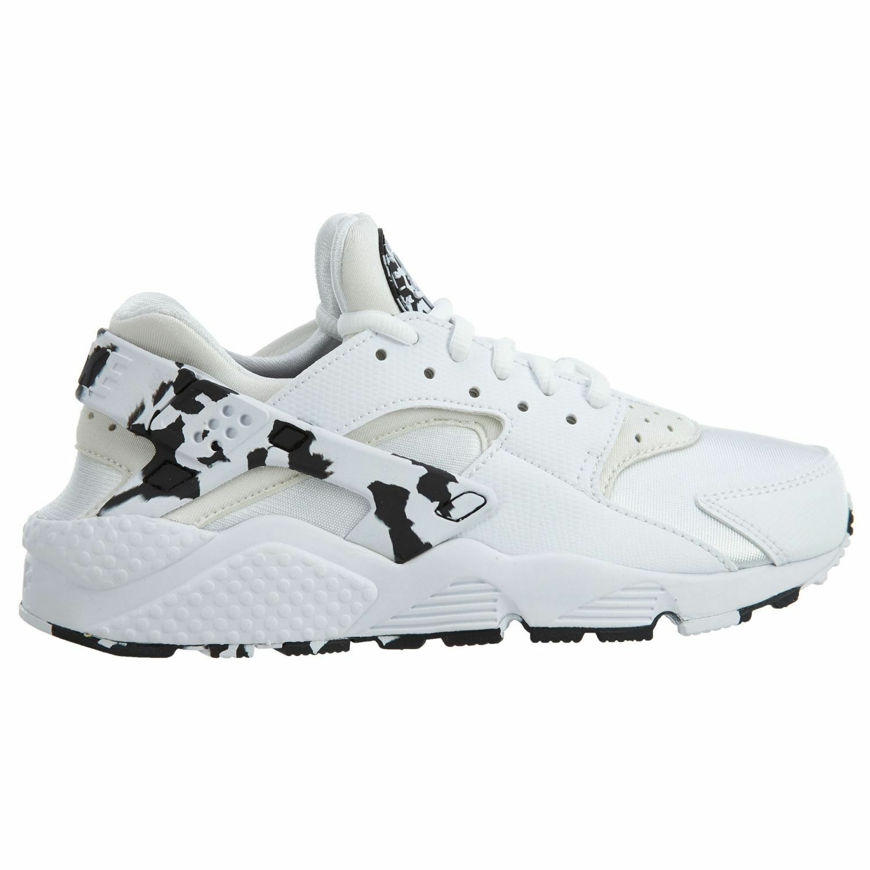 Nike Air Huarache Run SE Womens 859429-100 White Black Running shoes Size 6.5