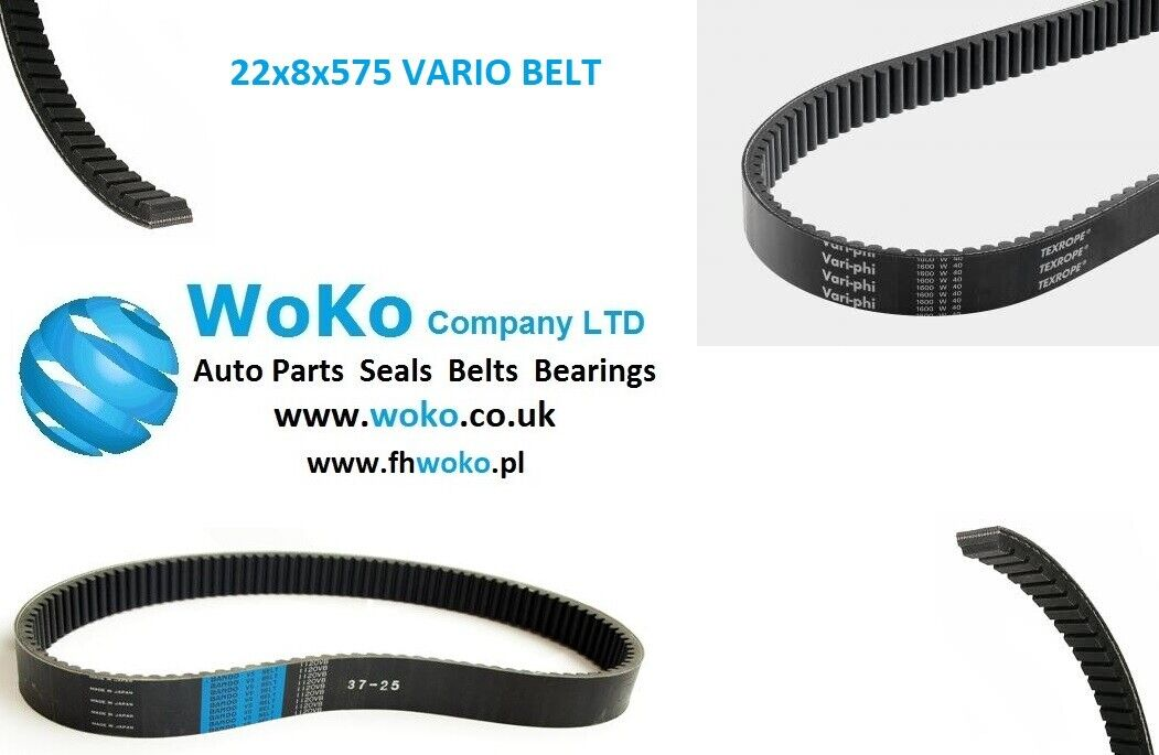 OPTIBELT Variable Speed Belt VSB 26X8X800 800mm Inside Length
