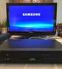 Samsung DVD-V9800 DVD Player and VHS VCR Player Recorder combo HDMI  Tested!