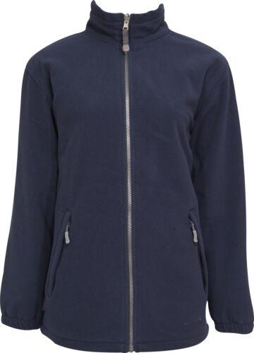 Wynnster Finisterre Womens Fleece Jacket Navy Waterproof Wind Resistant Coat