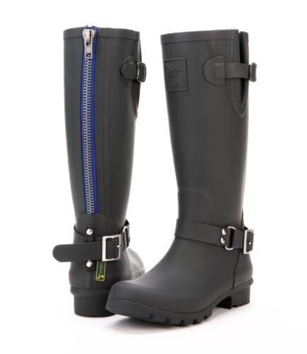 femmes d'hiver Caoutchouc Wellies pour Designer Wellingtons Bottes Evercreatures Rain bgyf67Y