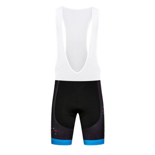 New Men Bike Bibs Shorts Black Cycling Riding Racing Short Brace Tights Pants