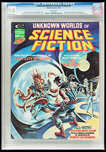Unknown Worlds of Science Fiction #4 CGC NM/MT 9.8 Highest Graded Frank Brunner