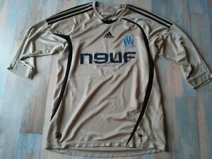 MAILLOT FOOT ADIDAS OM OLYMPIQUE DE MARSEILLE NEUF TELECOM TAILLE L/D6 TBE