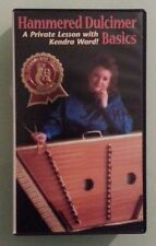 HAMMERED DULCIMER BASICS  a private lesson with kendra ward ! VHS VIDEOTAPE