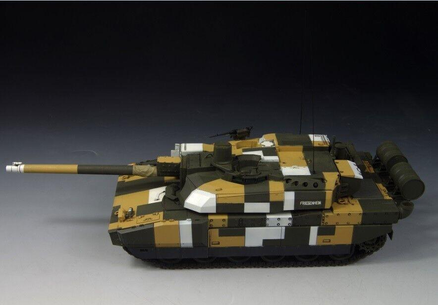 Award Winner Built Tamiya 1 35 AMX-56 Digital City Leclerc II MBT +DIECAST