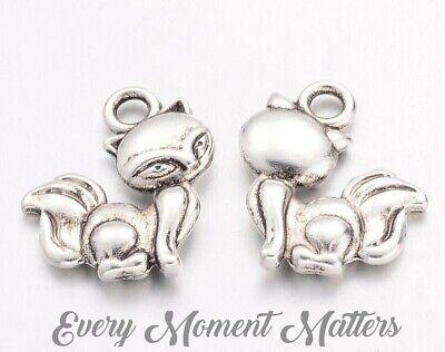 20 x Tibetan Silver CAT CHARM HARRY POTTER Charms Pendant Bead