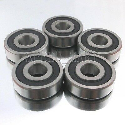 Fits Premium 6202 2RS ABEC 3 Rubber Sealed Deep Groove Ball Bearing 15x15x11mm