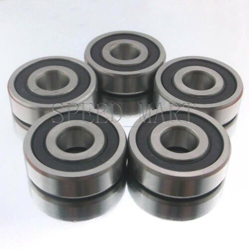 15mm*35mm*11mm 5PCS 6202-2RS Deep Groove Ball Bearing