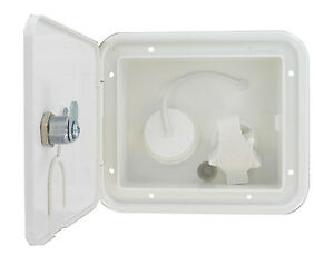 White Gravity Plastic City Water Inlet Hatch Travel