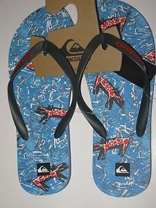 Quiksilver Molokai Ghetto 12 Men s Surf Flip Flops Sandals Shoes ... d57fb0b907e
