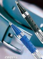 10 X Cello Gripper Ball Pen 5 Black Ink + 5 Blue Color Ink Ball Pen Usa Seller
