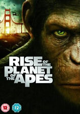 RISE OF THE PLANET  OF THE APES - DVD - REGION 2 UK