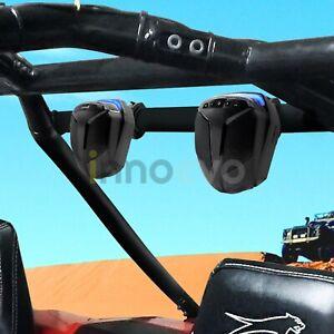 Bluetooth-Waterproof-ATV-UTV-RZR-Polaris-Speakers-Stereo-Audio-Amp-System-Radio