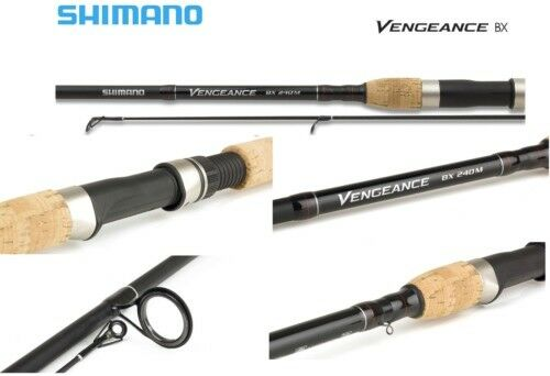 Shimano Vengeance BX Spinning Fishing Rods 1.8m - 2.7m Various Sizes