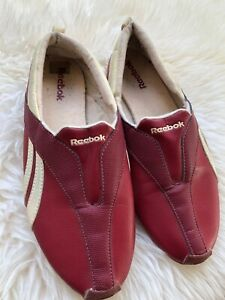 Reebok Collector's Shoe Red Tron Loafer