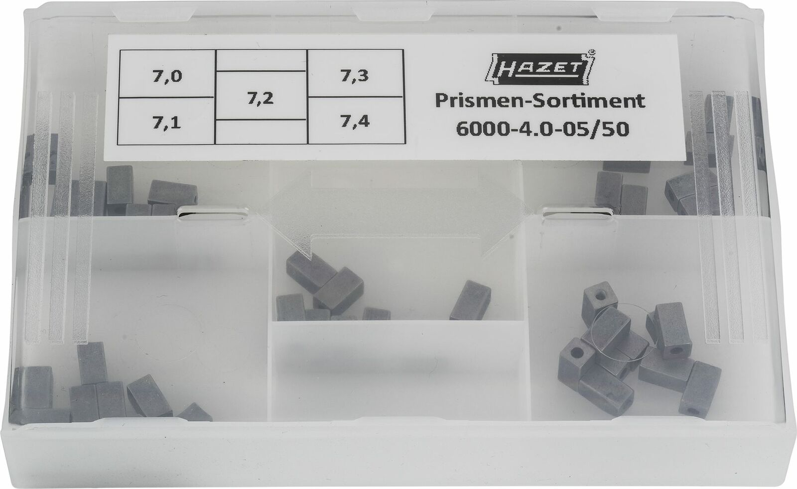 HAZET Replacement set 6000-4.0-05 50