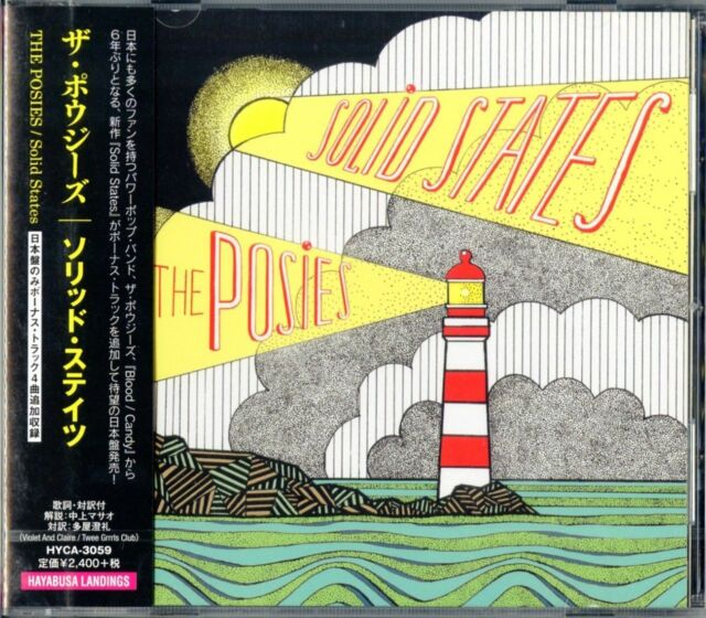 POSIES-SOLID STATES-JAPAN CD F30