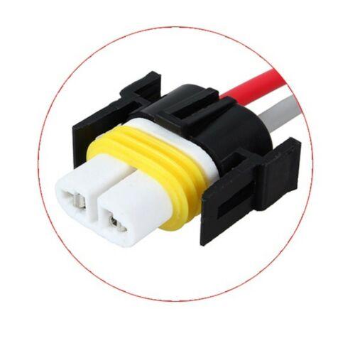 Wire LED Resistor Canceler Error Decoder S H11 Fog Light Bulb Flickering Stop