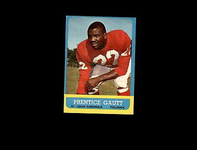 1963 Topps 150 Prentice Gautt EX #D1,144545 | eBay