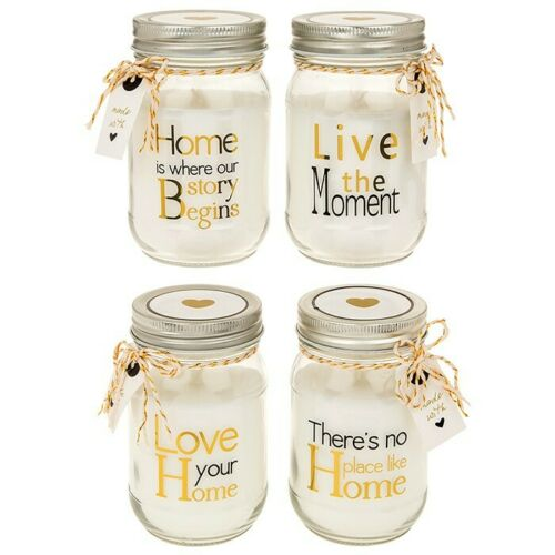 Home Sentiments Large Candle,Family Gift Idea Housewarming Birthday