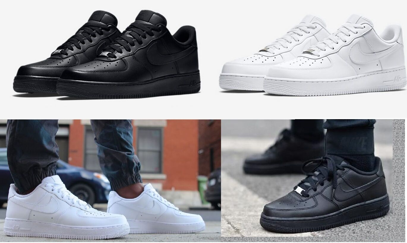 NEW MEN'S NIKE AIR FORCE 1 ONE LOW  SHOES LIFESTYLE SNEAKERS