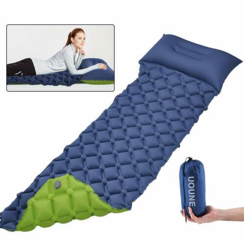 Ultraleichte Isomatte Camping Aufblasbare Luftmatratze Wasserdicht Schlafmatte V